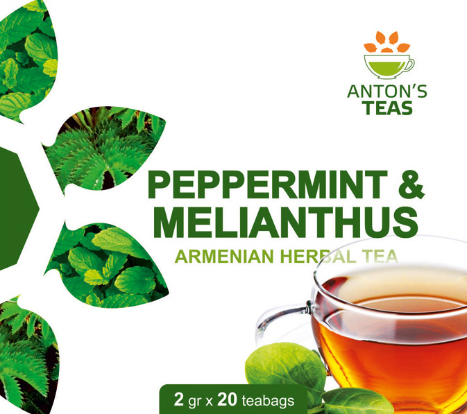 Tea Mint with Melianthus